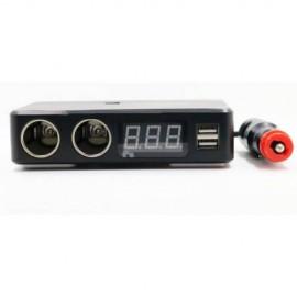 GPS тракер и подслушвател вградени в разклонител за запалки за кола gpx13