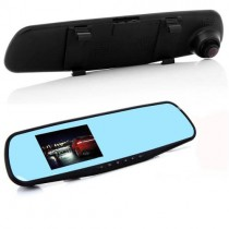 Мини камера видеорегистратор вграден в огледало за задно виждане