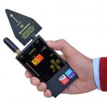 Професионален широкообхватен детектор на всякакви подслушвателни и проследяващи устройства Protect 1206i