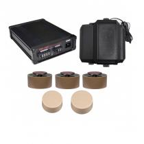 Комплект професионален три канален генератор на бял шум с пет датчика и говорител