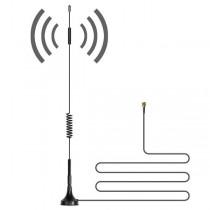 Антена за усилване на сигнала с магнитна повърхност и 10 метров коаксиален кабел