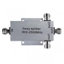 Сплитер за усилвател на GSM сигнал с 3 канала за допълнителни вътрешни антени